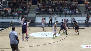 After trailing for a portion of the first half, the Estonian national team took control in the fourth quarter Wednesday night.