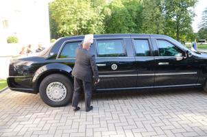 Käib Obama auto poleerimine