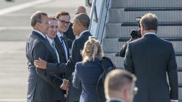 Presidendid suruvad enne Obama lahkumist kätt