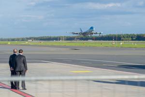 Air Forve One lahkub Tallinnast
