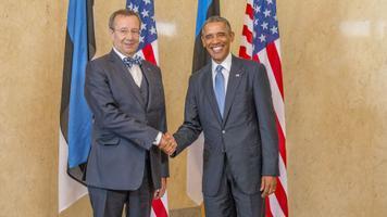 President Ilves ja president Obama