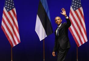 Obama andis publikut sütitanud kõne, millele järgnes pikk aplaus