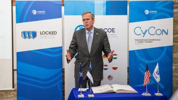 Jeb Bush visited Estonia.