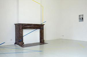 Untitled (yellow and blue), 2011