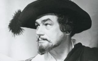 Eesti laulja Georg Ots lavastuses Mees La Manchast (1971)
