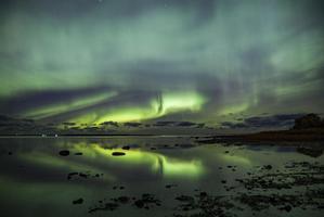 Wonderful display of northern lights over Estonia on Wednesday evening.