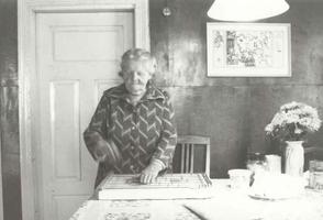 Maria Murman, Vormsi viimane rannarootslane.
