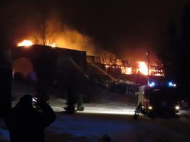 Hotell Bernhardi põleng Otepääl