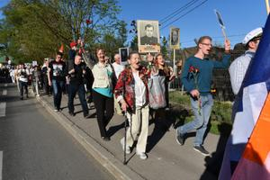 March of the Immortal Regiment in Tallinn. May 9, 2016.