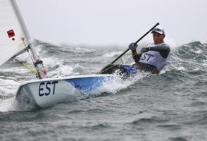 Laser-class sailor Karl-Martin Rammo.