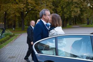 Kersti Kaljulaid Kadriorus.