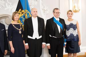 Kersti Kaljulaiu ja Toomas Hendrik Ilvese vastuvõtt Kadrioru kunstimuuseumis