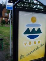 Võro bussiliini reklaam.