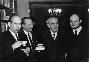 Arne Oit, Boris Kõrver, Heino Eller, Arvo Pärt