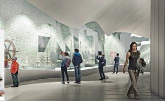 Paksu Margareeta muuseum-külastuskeskuse kavand.