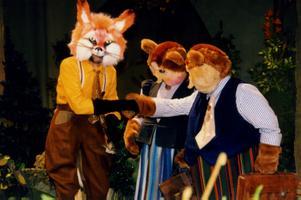 Лембит Ульфсак в детской театральной постановке, 1998
