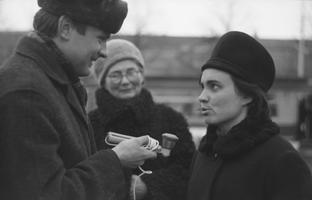 Kevade alguse reportaaž, reporter Mati Talvik. 1968