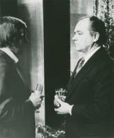 Laulja Georg Ots [21.03.1920 Petrograd - 5.09.1975 Tallinn], saatejuht   Mati Talvik.