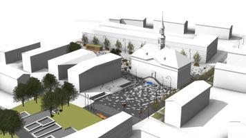 """Arhitektuurikonkursi võitjaks kuulutati ideekavand märgusõnaga """"Narvainen"""""""