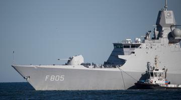 Корабли НАТО в Таллинне.