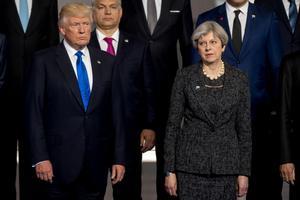 Donald Trump ja Theresa May