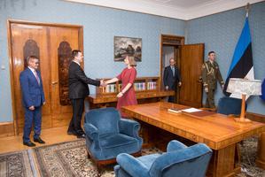 President nimetas Aabi ministriametisse