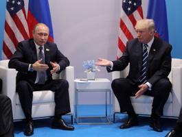 Donald Trumpi ja Vladimir Putini esmakordne kohtumine.
