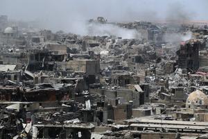 Mosulis kuulutatakse peagi välja võit ISIS-e üle.