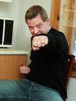 Vanilla Ninja produtsent Sven Lõhmus.  2003