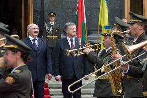 Valgevene president Aleksandr Lukašenko Kiievis visiidil.