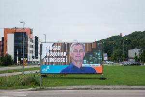 Наружная политическая рекалама в Таллинне и Виймси