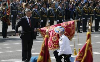 Iseseisvuspäeva paraad Kiievis.