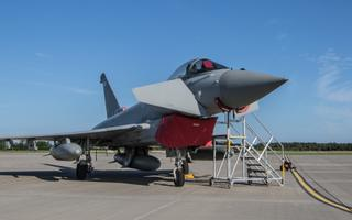 RAF Eurofighter Typhoon at Ämari Air Base