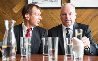 Tegusa Tallinna eestvedajad Jüri Mõis ja Urmas Sõõrumaa.