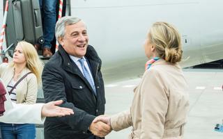 Euroopa Parlamendi president Antionio Tajani.