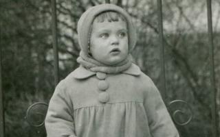 Pildil on paariaastane Arvo Pärt.