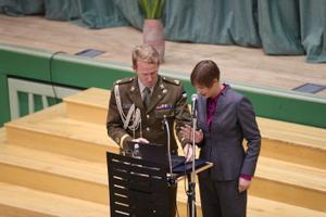 President Kersti Kaljulaid andis kohalikel valimistel e-hääle