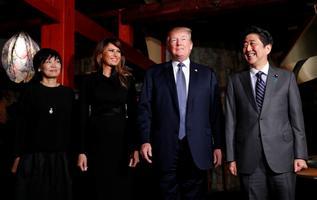 USA president Donald Trump 5. novembril Jaapanis.