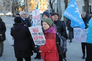 Rail Balticu meeleavaldus.