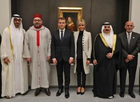 Macron osales Abu Dhabis Louvre-i avamisel.