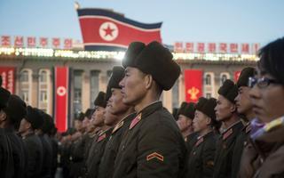 Pyongyangis tähistati suurejooneliselt raketikatsetuse õnnestumist.