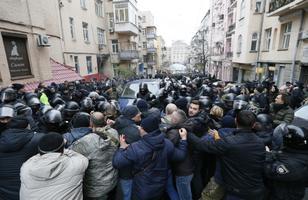 Михаила Саакашвили задержали в Киеве.