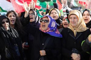 Meeleavaldus Istanbulis.