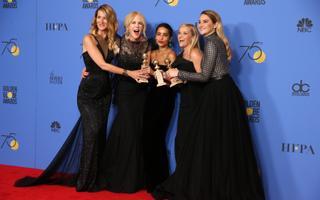 Laura Dern, Nicole Kidman, Zoe Kravitz, Reese Witherspoon ja Shailene Woodley