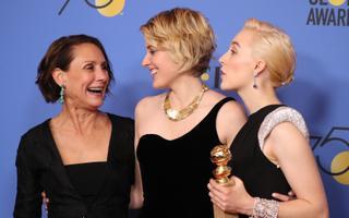 Laurie Metcalf, Greta Gerwig ja Saoirse Ronan
