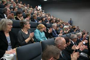 Eesti 100. sünnipäeva aktus ja vastuvõtt Turu Ülikoolis.