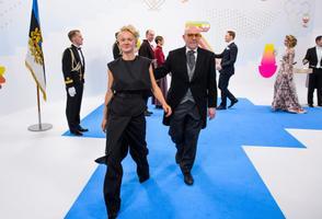 Andrus Vaarik ja tütar Marta Vaarik