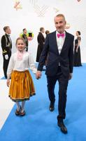 Martin Sepping koos tütre Iirisega