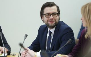 Генсек Партии реформ Керт Валдару.