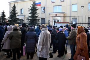 Выборы президента РФ в Нарве.